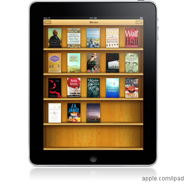 El e-book y la llegada del iPad