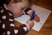 pequeños escritores
