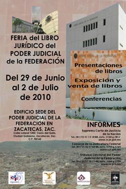 Feria del Libro Jurídico, extensión Zacatecas
