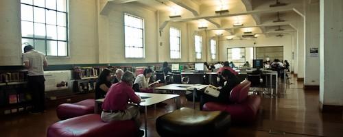 Biblioteca de Santiago, Chile. Sala Adultos