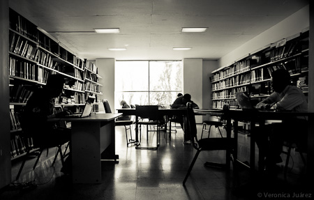 Visita fotográfica Biblioteca Facultad de Ingeniería, UAEM