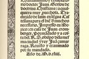 Contrato entre Juan Cromberger y Juan Pablos