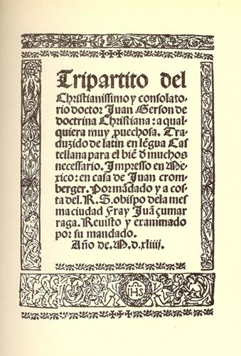 Historia de la Imprenta en México: orígenes