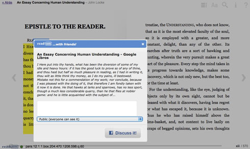 Readum y la lectura social