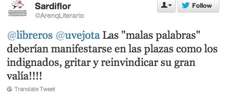 tweet libreros