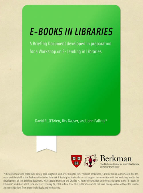 ebooks in libraries