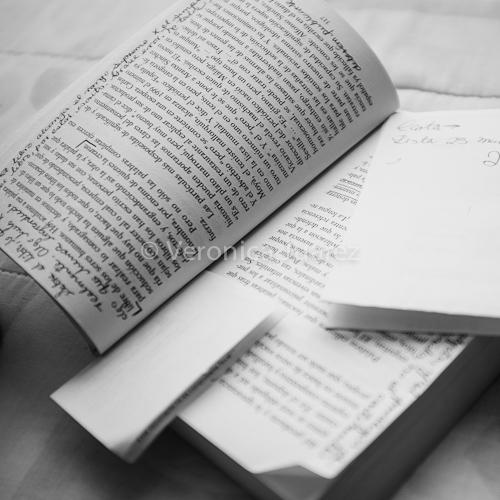 subrayar los libros