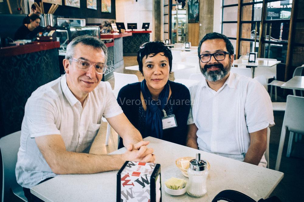 Gonzalo Oyarzún y Pablo Andrade en FILSA 2014
