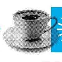 los escritores y el café