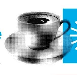 Los escritores y el café, infografía