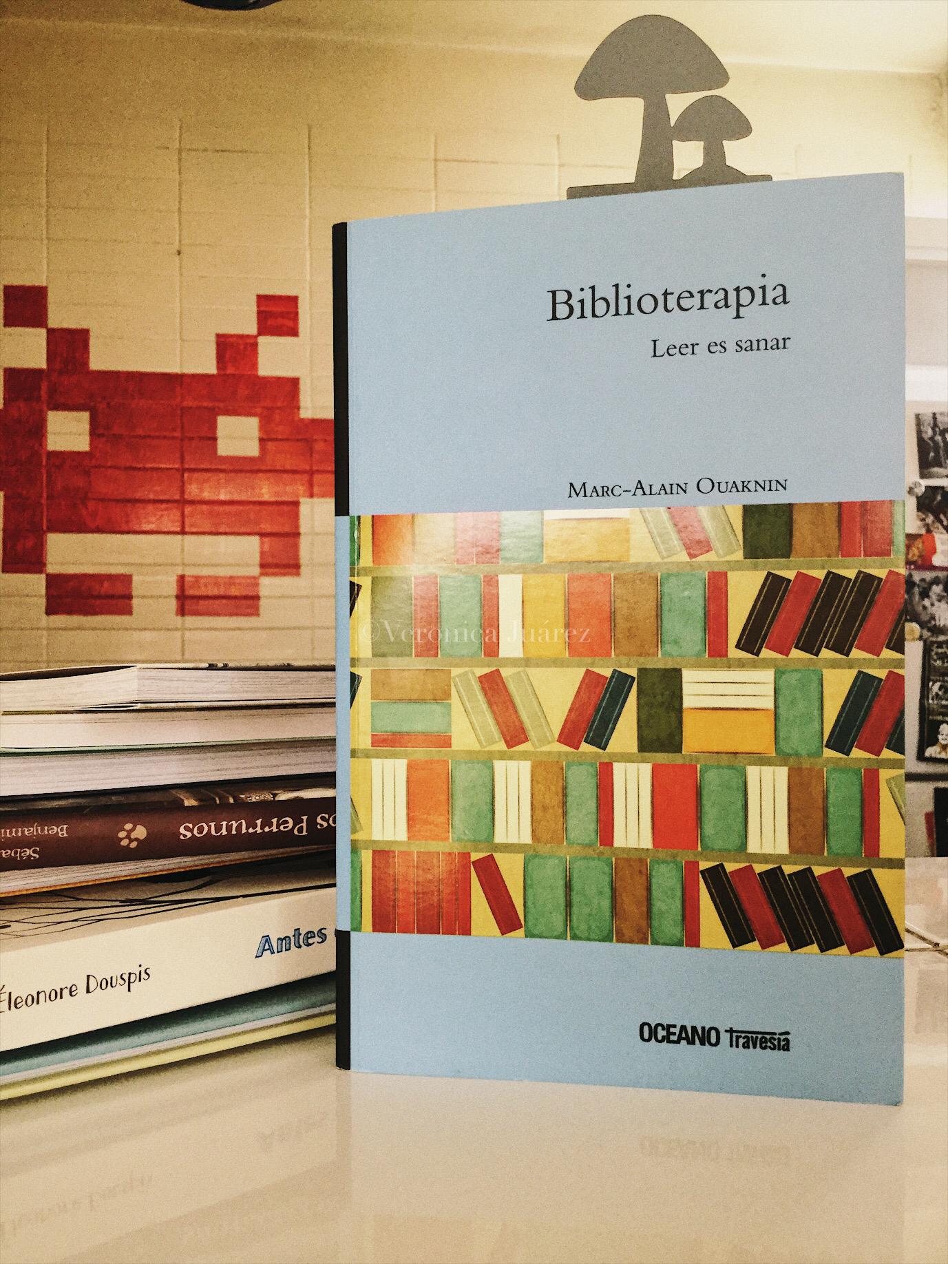 Biblioterapia, leer es sanar, reseña