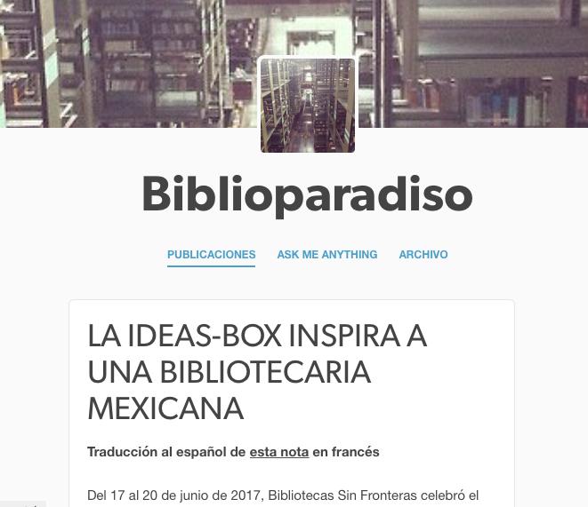 blogs de bibliotecas