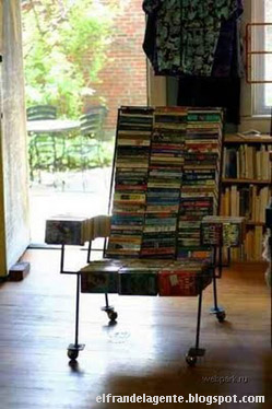 Chair of books
