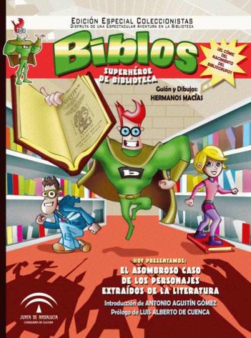 Biblos, un superhéroe de biblioteca