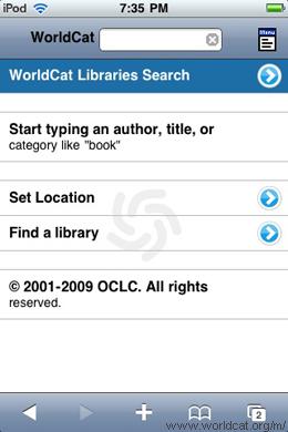 Glosario bibliotecológico: OPAC