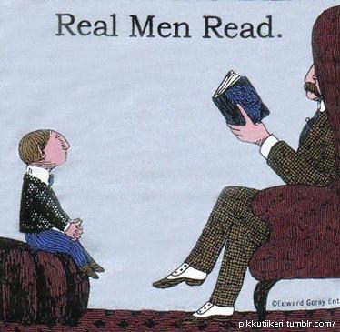 ¡Los hombres de verdad Leen!