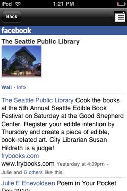 Seattle Public Library Mobile