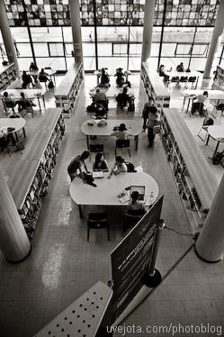 Visita Fotográfica a la Biblioteca Central, UNAM