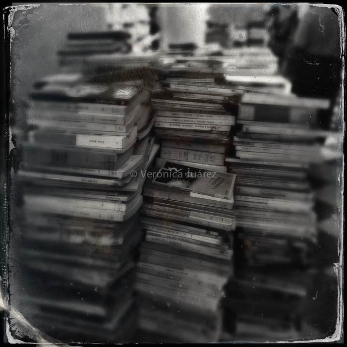 llenar la vida con libros