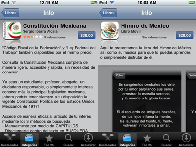 Constitución Política de México e Himno Nacional