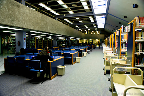 Biblioteca Gregorio Torres Quintero, UPN
