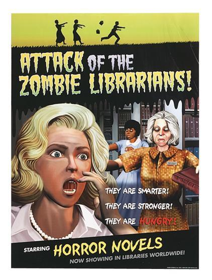 De zombies en la Biblioteca