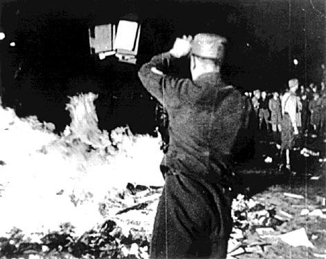 Quema de Libros, Berlín 10 de mayo de 1933