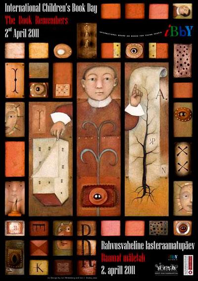 Cartel día del libro infantil y juvenil 2011