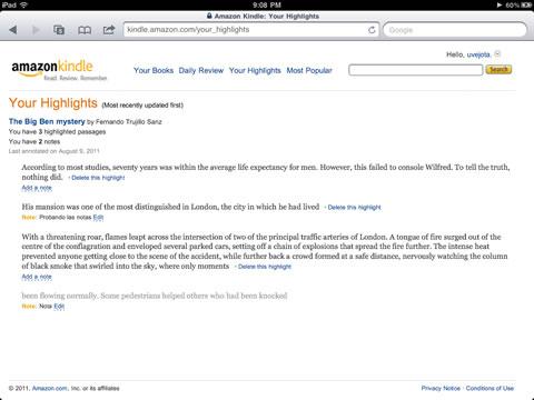 Red social Kindle Amazon 2