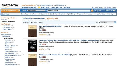 Libros Kindle español