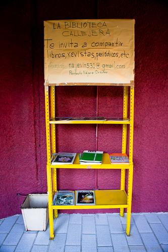 La biblioteca callejera