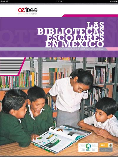 Cover bibliotecas escolares en México