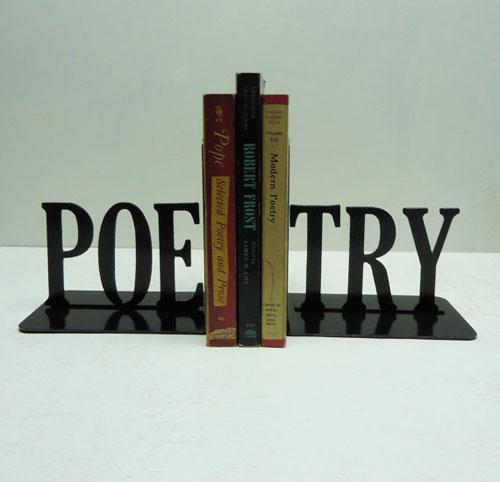 Sujetalibros: poesía