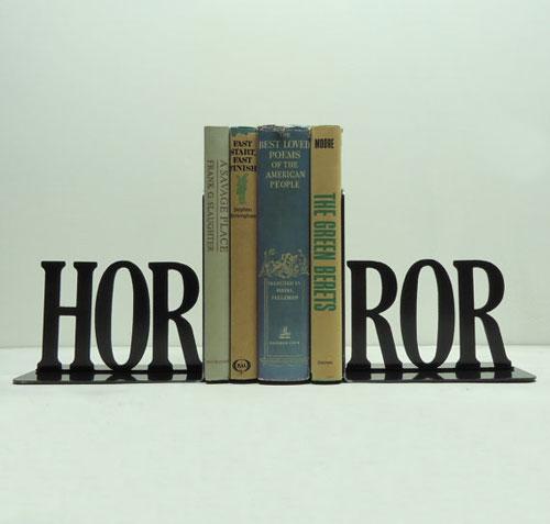 Sujetalibros: horror