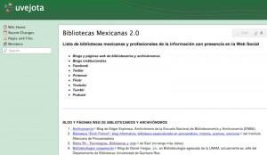 bibliotecas mexicanas wiki