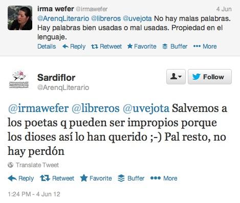 tweet irma wefer 2