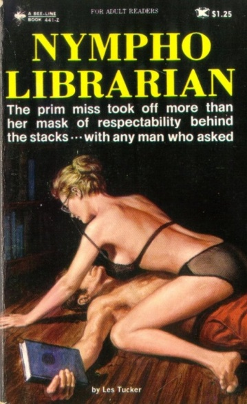 Nympho librarian