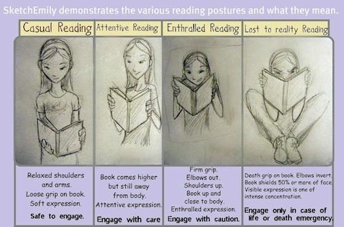 Zonas de lectura