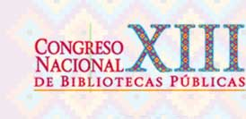 XIII Congreso Nacional de Bibliotecas Públicas