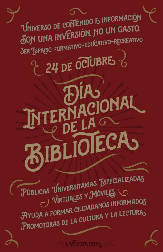 Día internacional de la Biblioteca 2014