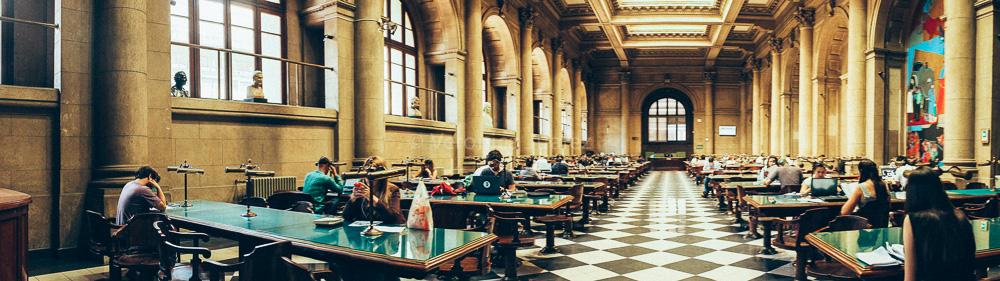 Sala de Lectura, Biblioteca Nacional de Chile