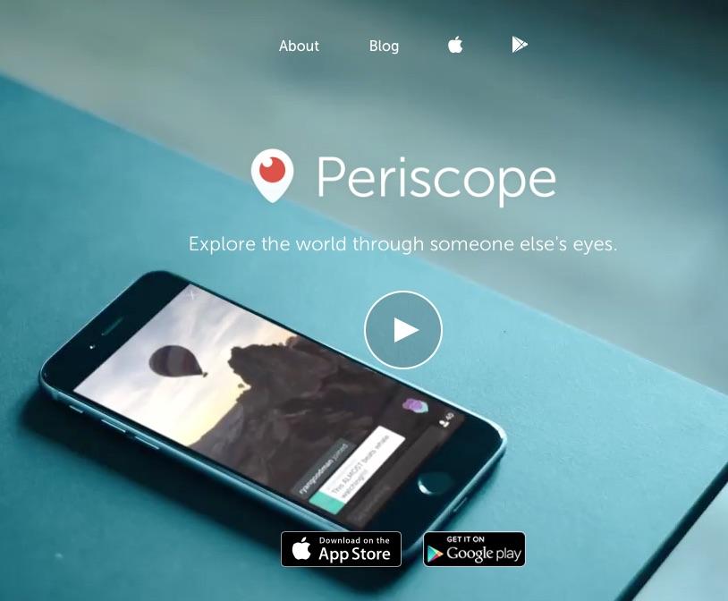 Imagen vía Periscope