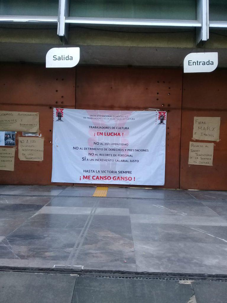 La DGB y la Biblioteca Vasconcelos cerradas