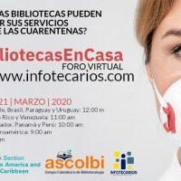 #BibliotecasEnCasa, el papel del bibliotecario ante la crisis