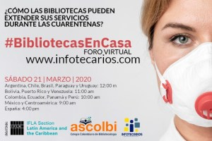 #bibliotecasencasa