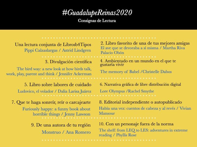 #GuadalupeReinas2020