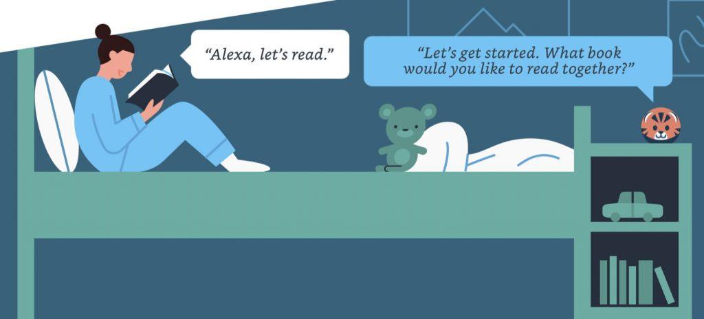 Reading Sidekick, ¿incentivar la lectura con asistentes de voz?